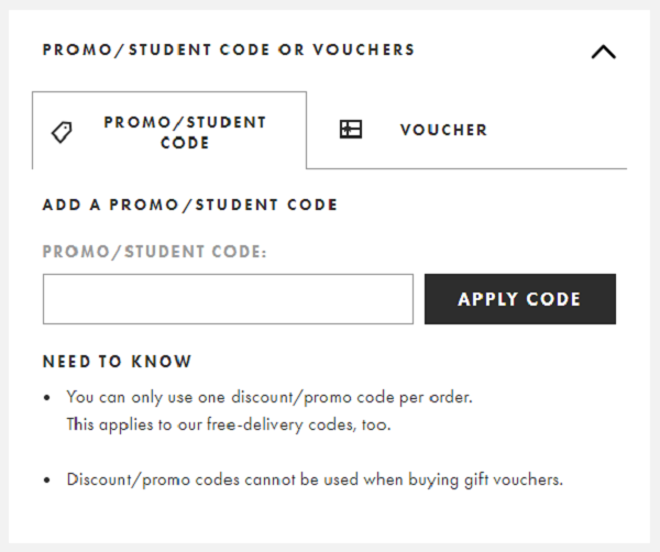 Discount codes for ASOS