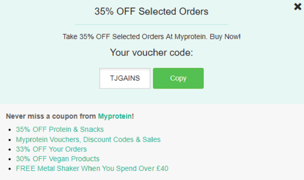 Myprotein Discount Codes & Voucher Codes - Get Up to 33% OFF