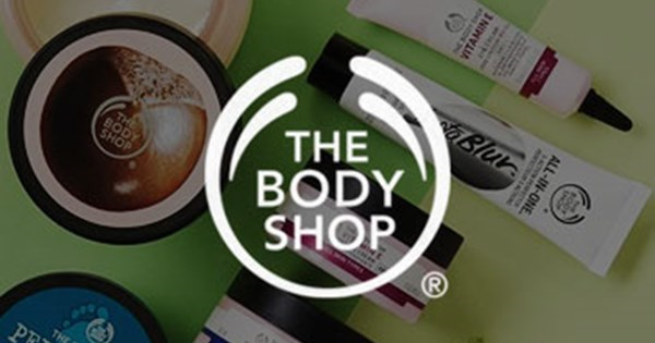 vouchers for The Body Shop