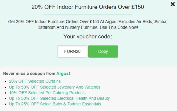 Argo discount code