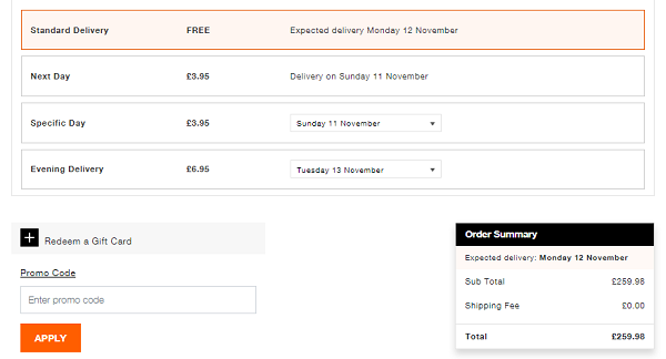 discount code for Superdry