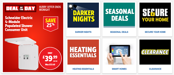 discount codes for Screwfix