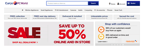 discount codes for Currys PC Worls
