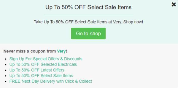 Very discount code