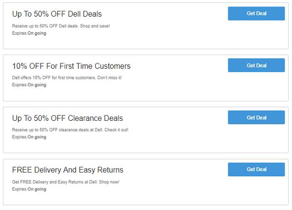 Dell discount codes