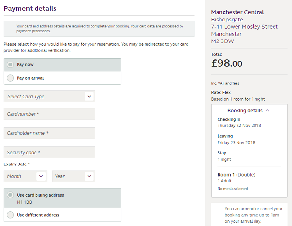 discount code for Premier Inn