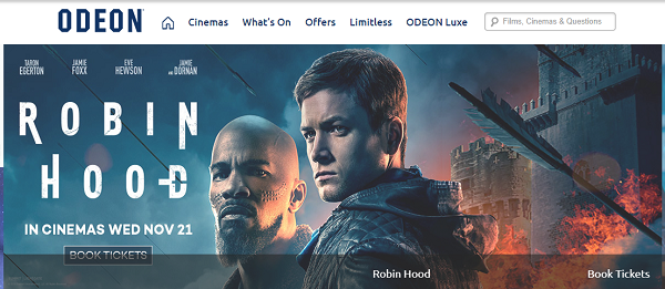 promo codes for ODEON
