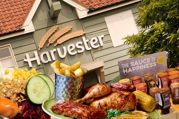 Harvester restaurant vouchers