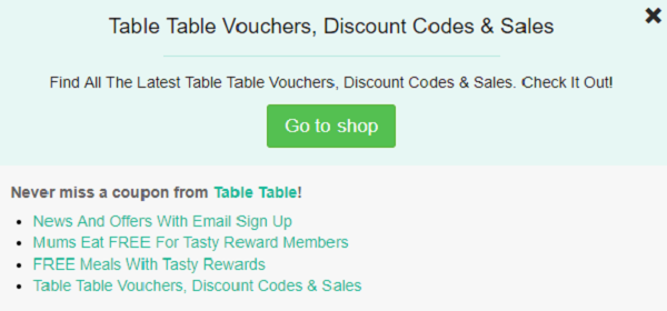 Table Table voucher