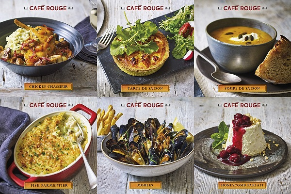 vouchers for Cafe Rouge