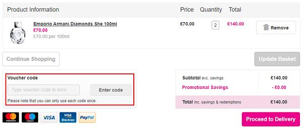 voucher code for Superdrug