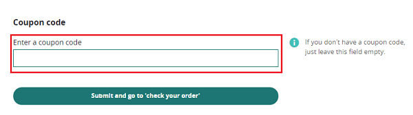 discount code for Wordery
