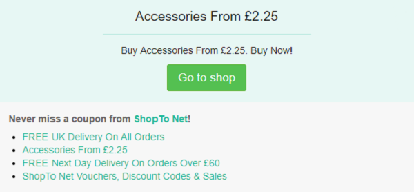 ShopTo Net discount code