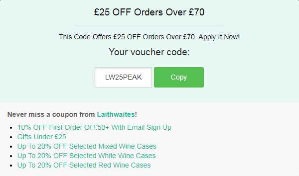 Laithwaites discount code