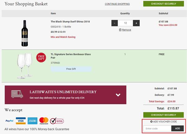 Laithwaites discount voucher