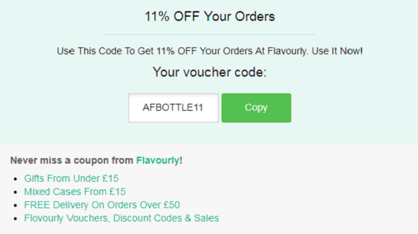 Flavourly discount code