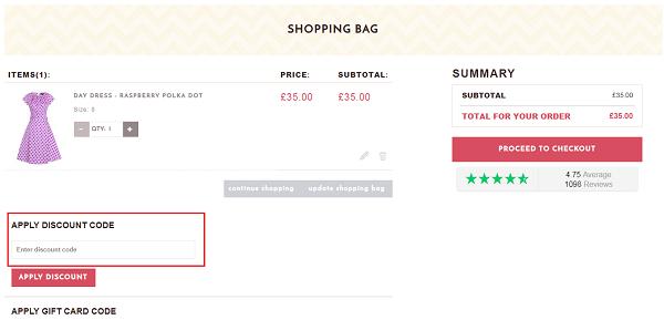 Lady V London discount voucher