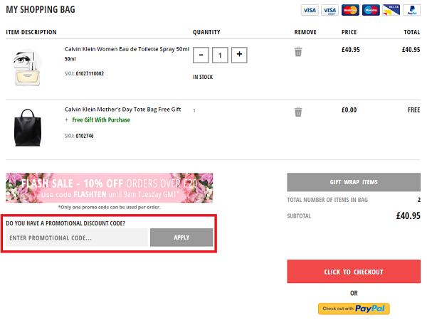 Fragrance Direct discount vouchers