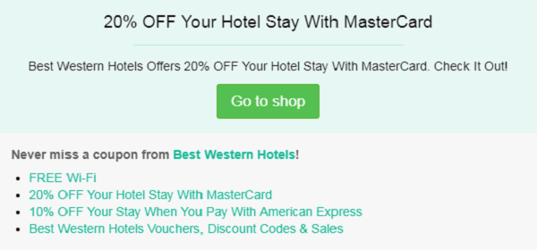 Best Western Hotels Discount Codes, Vouchers In 2019 | VALID