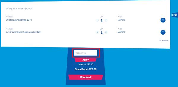 Blackpool Pleasure Beach ticket discount code