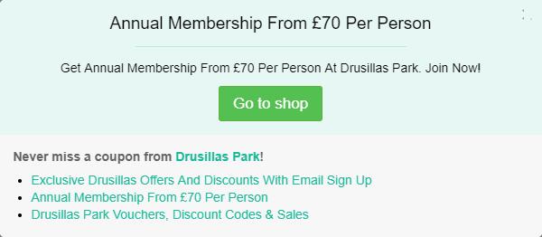 Drusillas Zoo Park vouchers