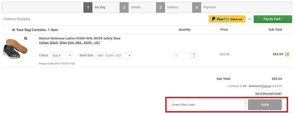 M.I Supplies discount code