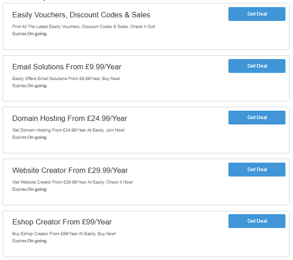 Easily discount codes