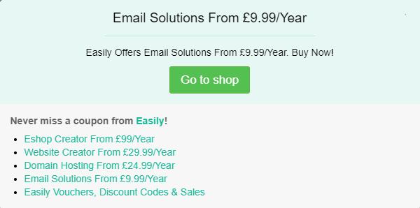 Easily discount code