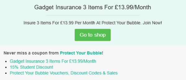 Protect Your Bubble promotion codes