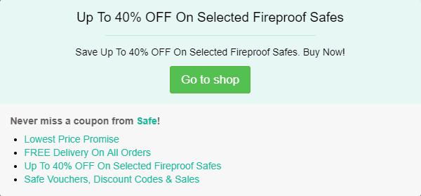 Safe discount code