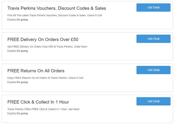 Travis Perkins discount codes