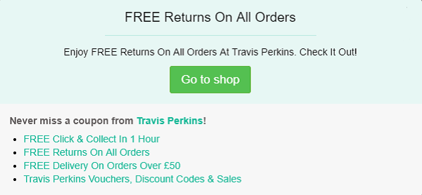 Travis Perkins discount code