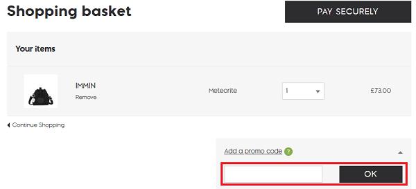 Kipling UK discount code