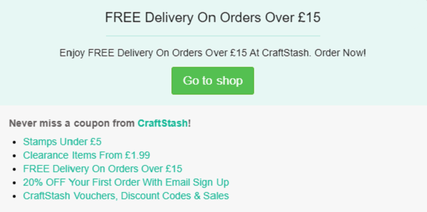 CraftStash discount code