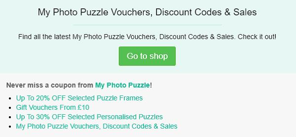 My Photo Puzzle voucher code