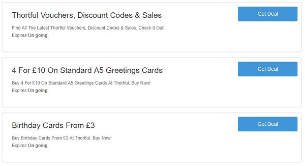 Thortful discount codes