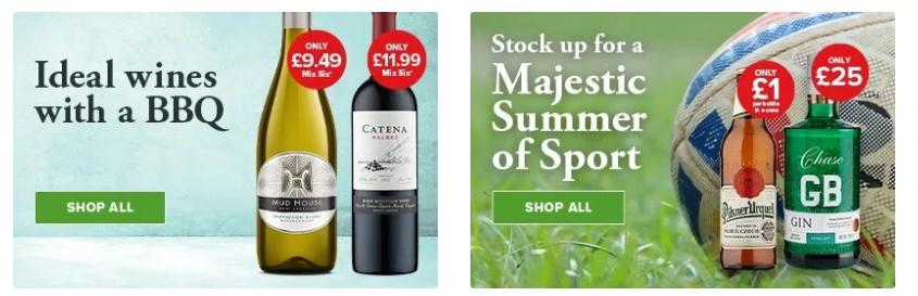 Majestic Wine discount code
