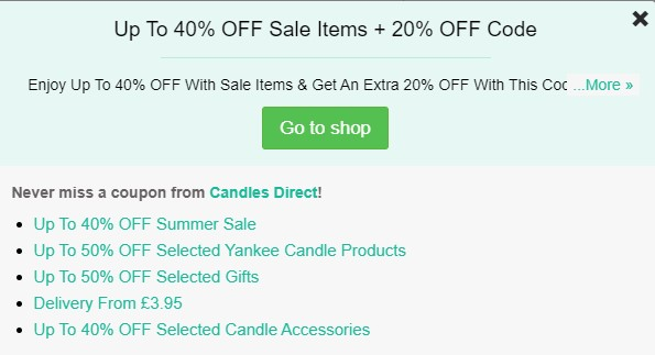 candles-direct-codes