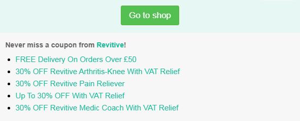 Revitive code