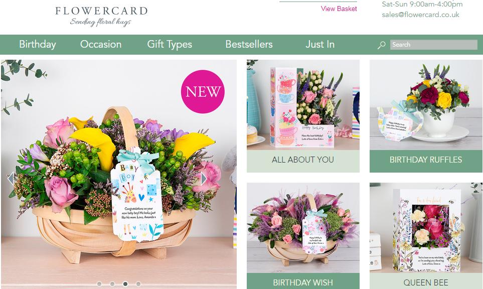 Flower card discount code