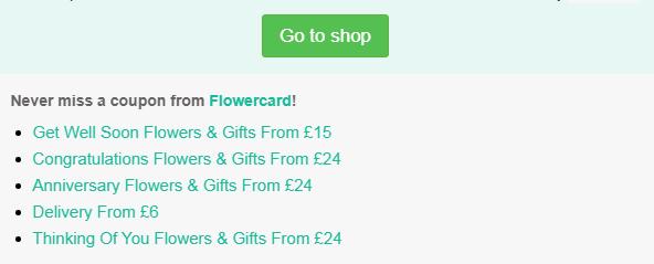 Flowercard code
