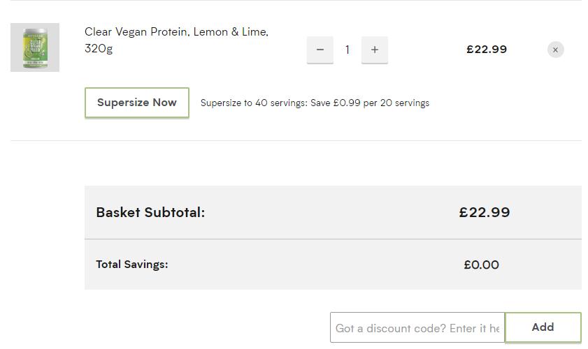 MyVegan discount