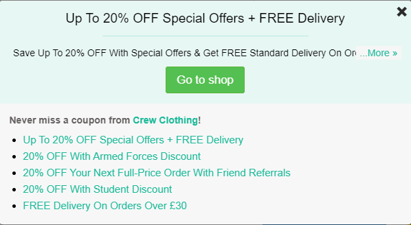 Crew-clothing-discount-codes