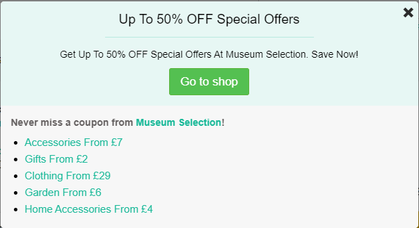 Museum-Selection-discount-codes