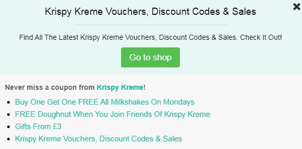 Krispy Kreme code